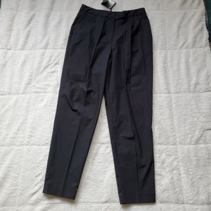 NWT Massimo Dutti Zara Pleated Cotton  Trousers Pa